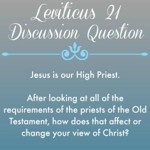 2015-05-21 Leviticus 21