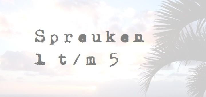 spreuken 1 - 5 good morning girls