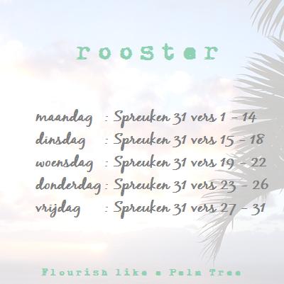 rooster - Spreuken 31
