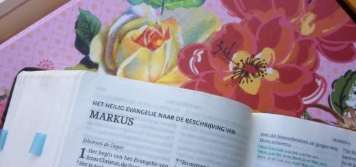 bijbelboek Markus, op weg naar passie en pasen