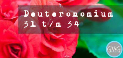 header Deuteronomium 31-34