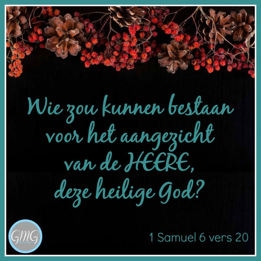 dagtekst 1 Samuel dag 06
