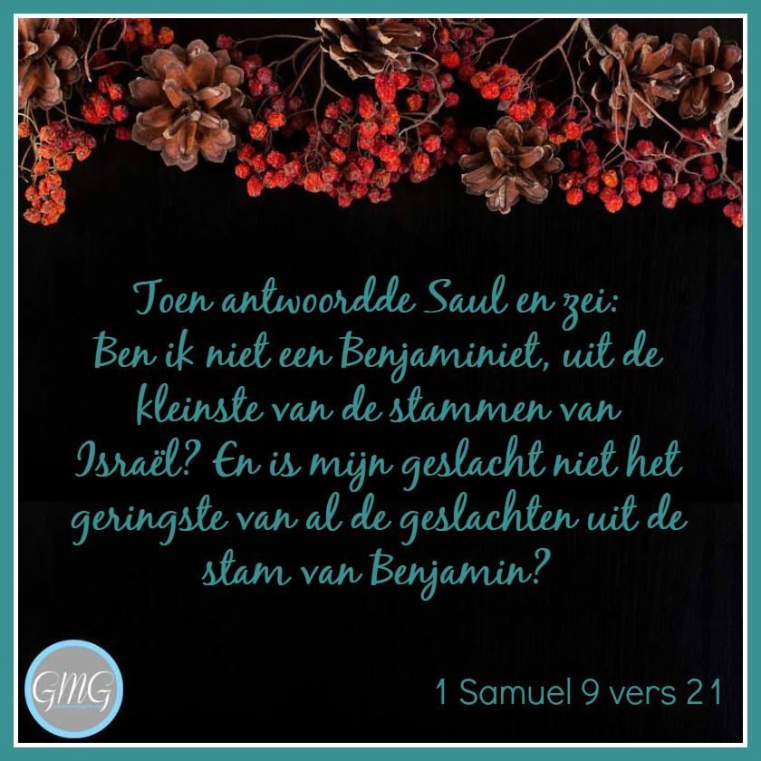 dagtekst 1 Samuel dag 09