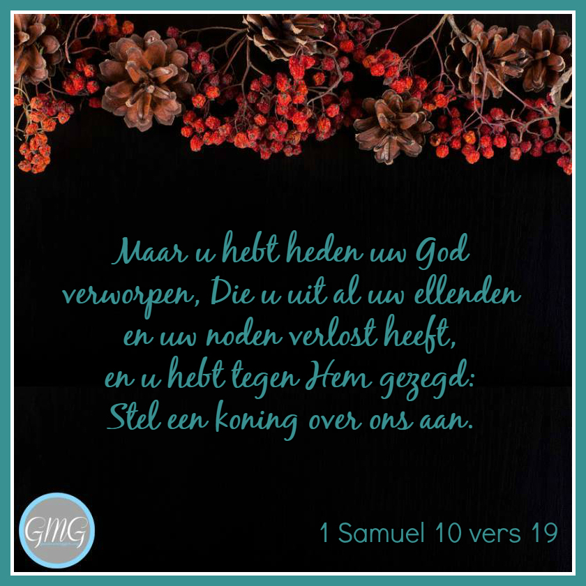 dagtekst 1 Samuel dag 10