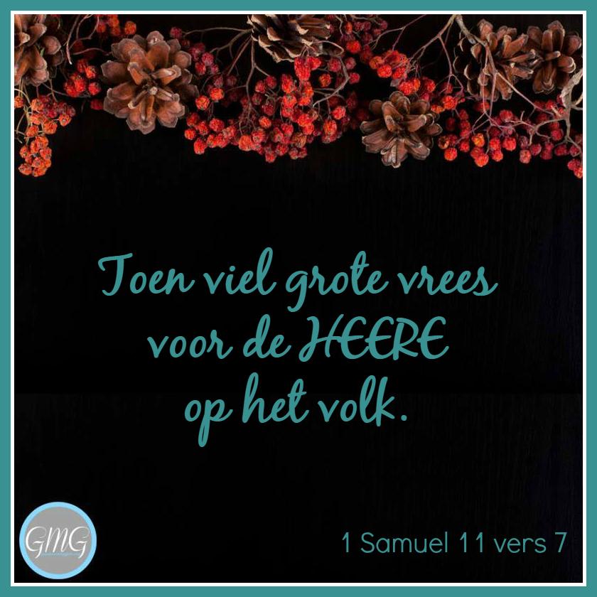 dagtekst 1 Samuel dag 11
