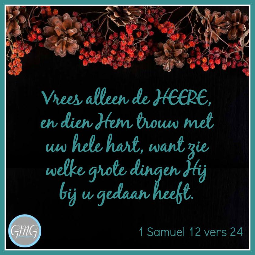 dagtekst 1 Samuel dag 12