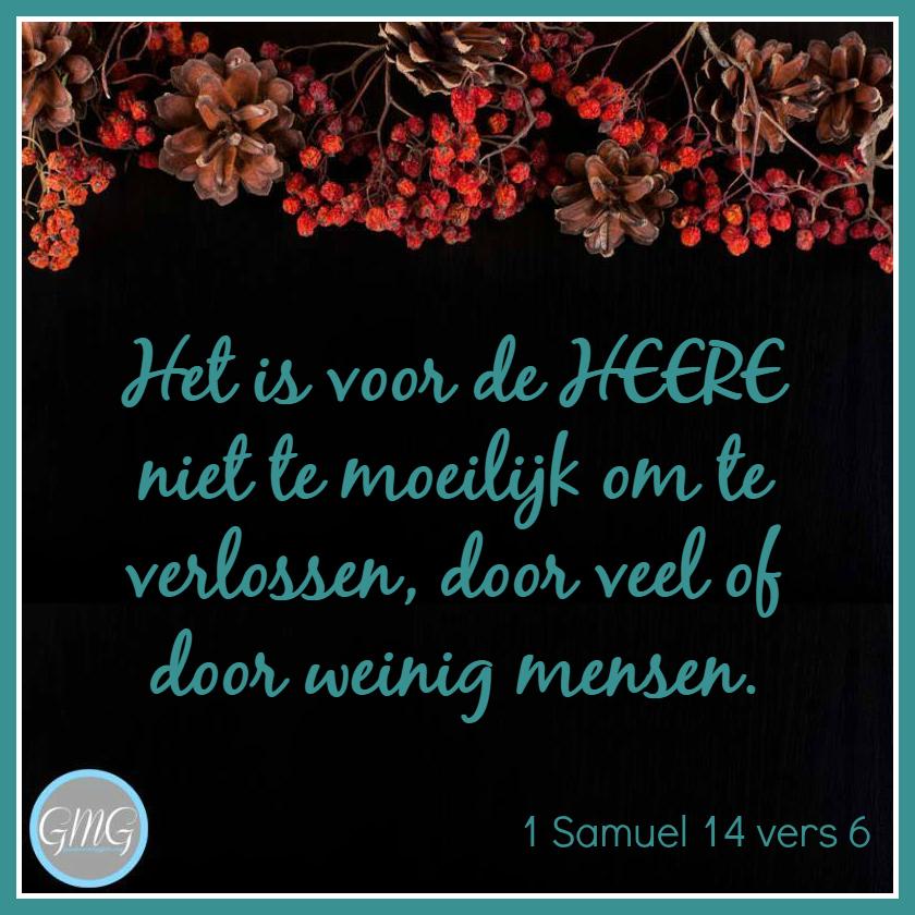 dagtekst 1 Samuel dag 14