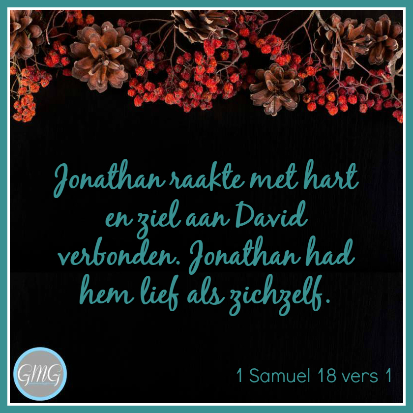 dagtekst 1 Samuel dag 18