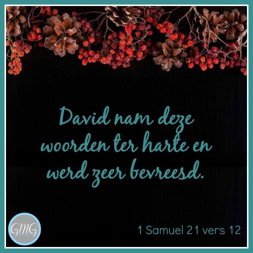 dagtekst 1 Samuel dag 21