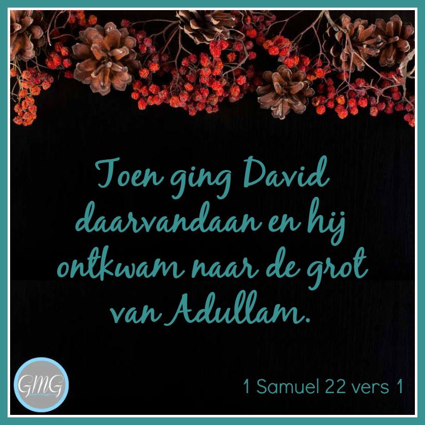 dagtekst 1 Samuel dag 22