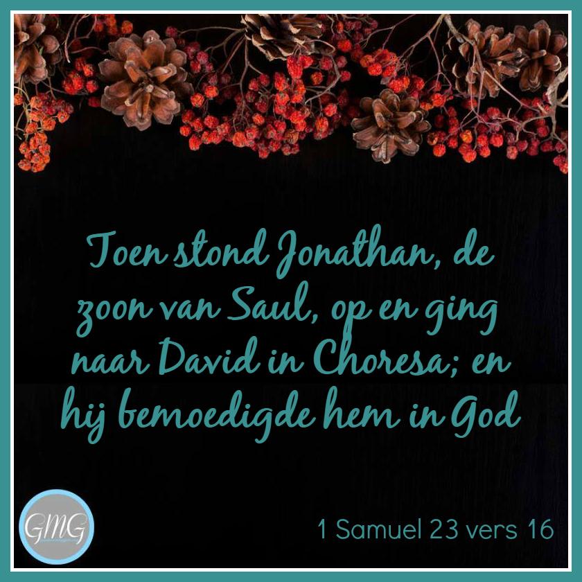 dagtekst 1 Samuel dag 23