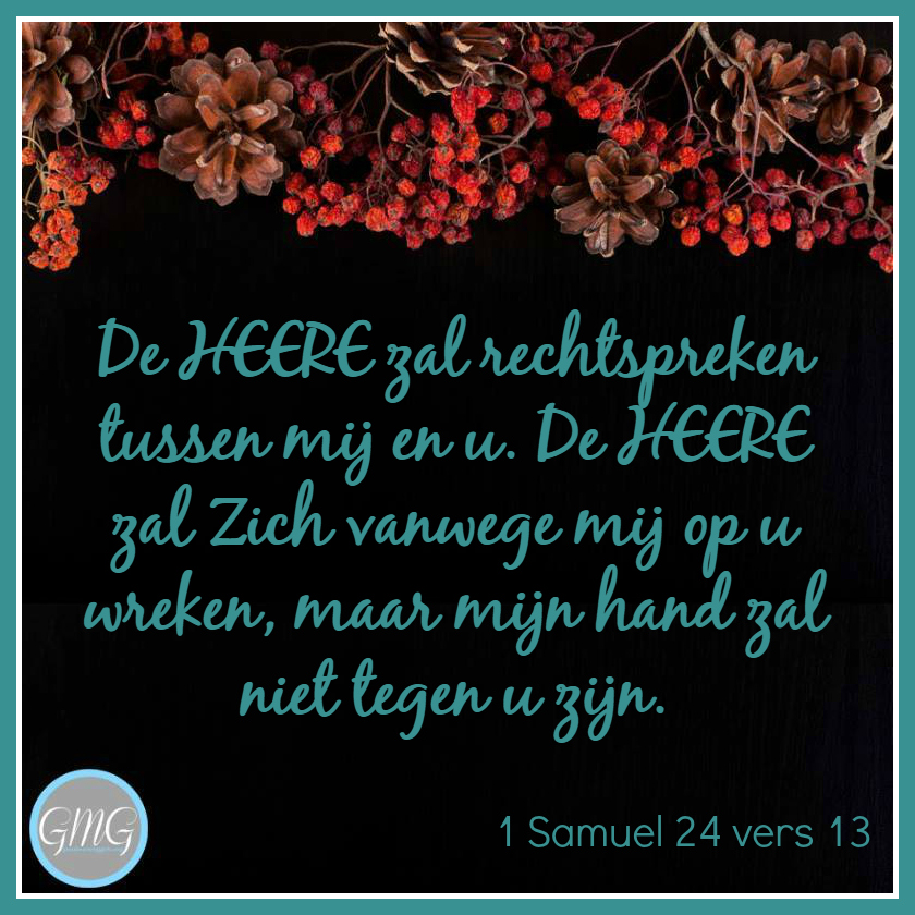dagtekst 1 Samuel dag 24