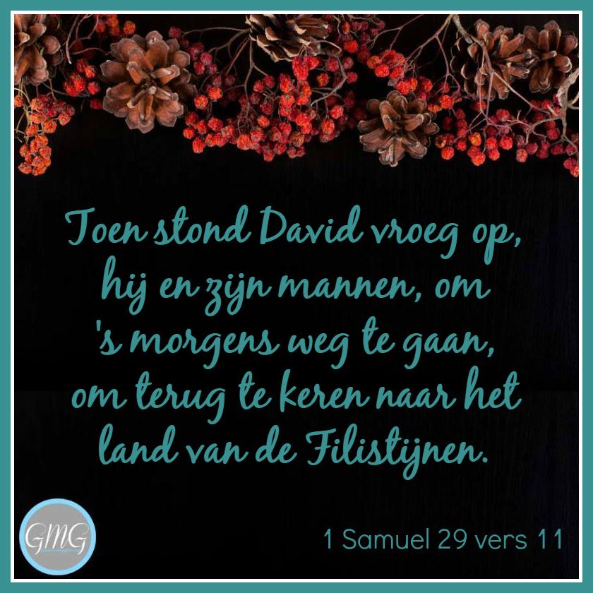 dagtekst 1 Samuel dag 29