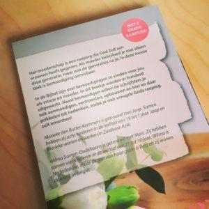 100 bemoedigingen voor moeders, boekentips Moederdag, Marieke den Butter, Wilma Samyn