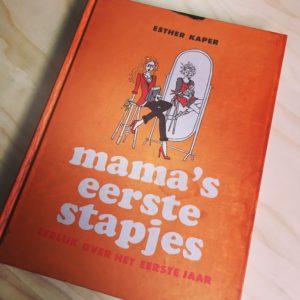 mama's eerste stapjes, boekentips Moederdag, Esther Kaper