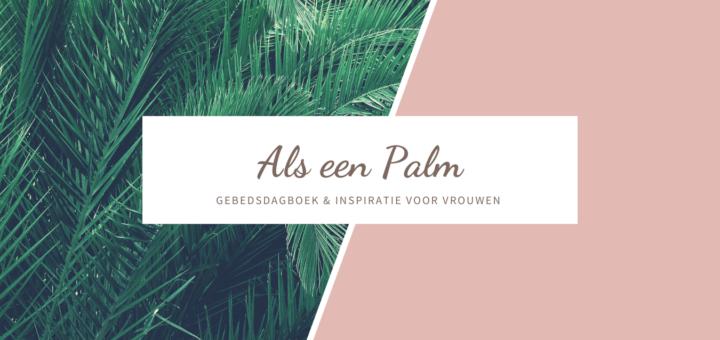 als een palm
